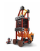 fisher-price trio siege tower bricks sticks
