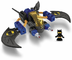 fisher-price trio super friends batwing vehicle