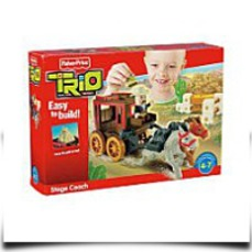 Fisher Price Trio Stage Coach Building