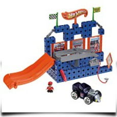 Discount Trio Hot Wheels Lift n Go Garage