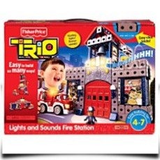 Buy Trio Lights And Sounds Fire Station