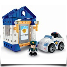 Discount Trio Police Station Set