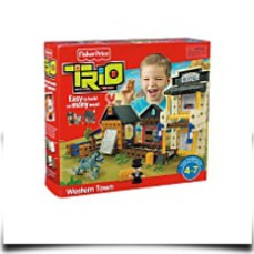 Discount Trio Sheriffs Station Building Set