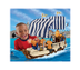 fisher-price trio king's warship bricks sticks