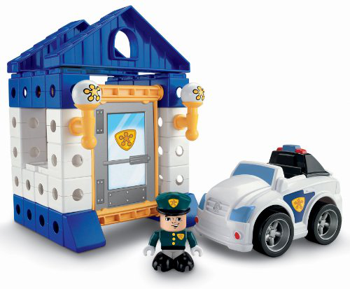 Trio Police Station Set
