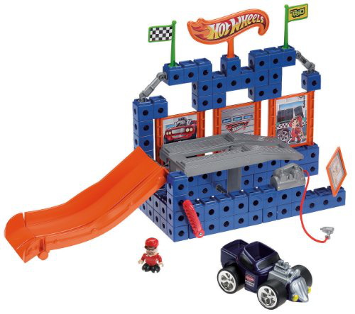 Trio Hot Wheels Lift n Go Garage