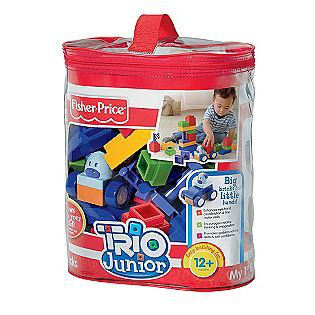 Fisher-price Trio Junior My 1ST Blocks (primary Colors)